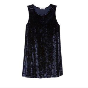 Black Velvet Sleeveless Dress BB Dakota